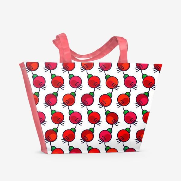 Пляжная сумка «Ягодопад»