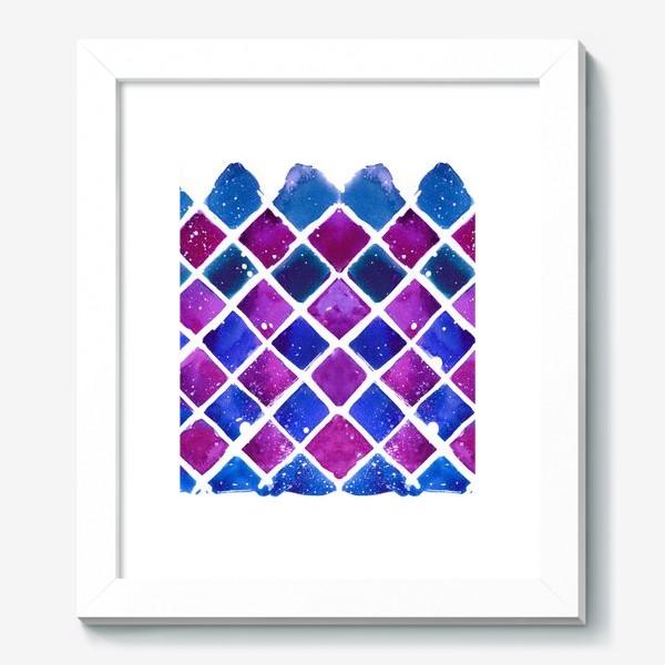 Картина «Синий ромб»