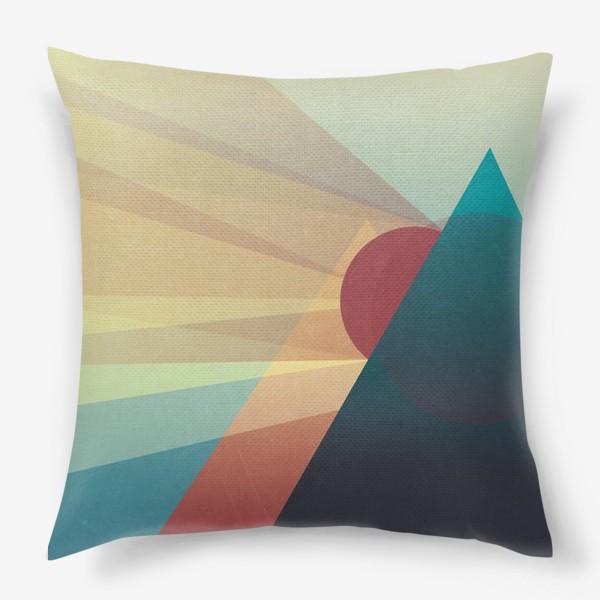 Подушка «Теплый вечер»