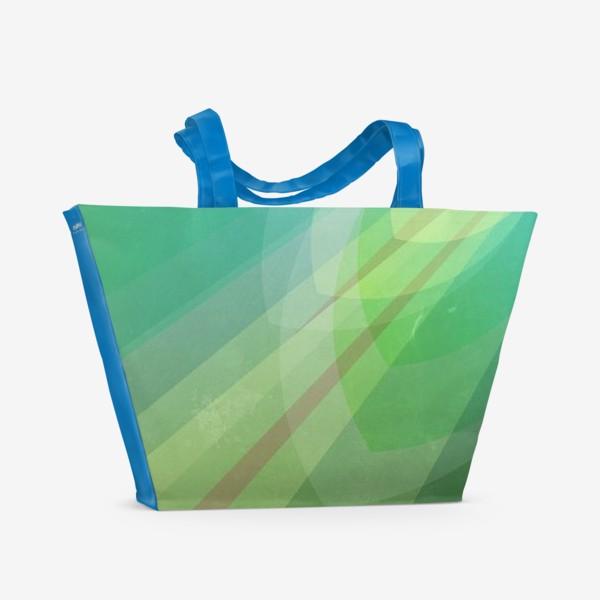 Пляжная сумка «ЭХ, ТРАВА-ТРАВУШКА, ТРАВУШКА-МУРАВУШКА»