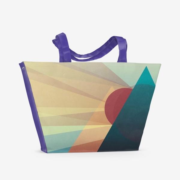 Пляжная сумка «Теплый вечер»