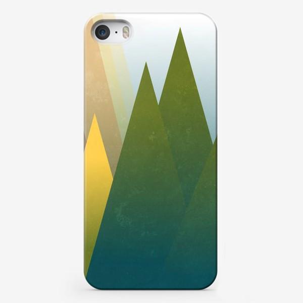 Чехол iPhone « Макушка лета»