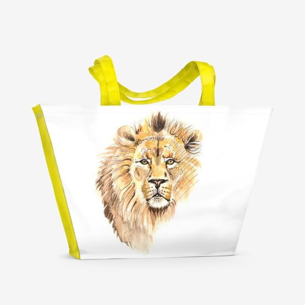 Пляжная сумка «Лев»