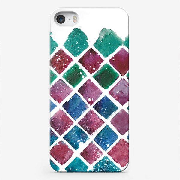 Чехол iPhone «Снежный ромб»