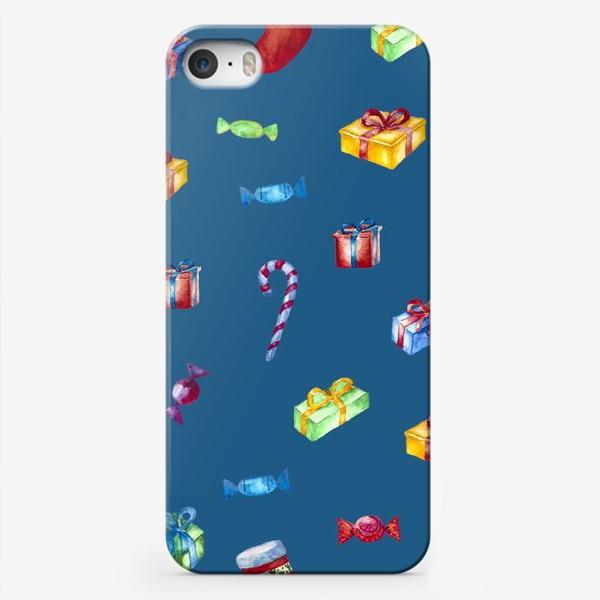 Чехол iPhone «Новогодние подарки»