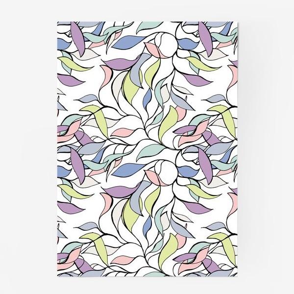 Постер «Pastel leaves»