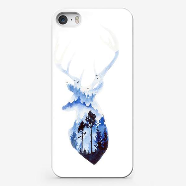 Чехол iPhone «Лесной олень»