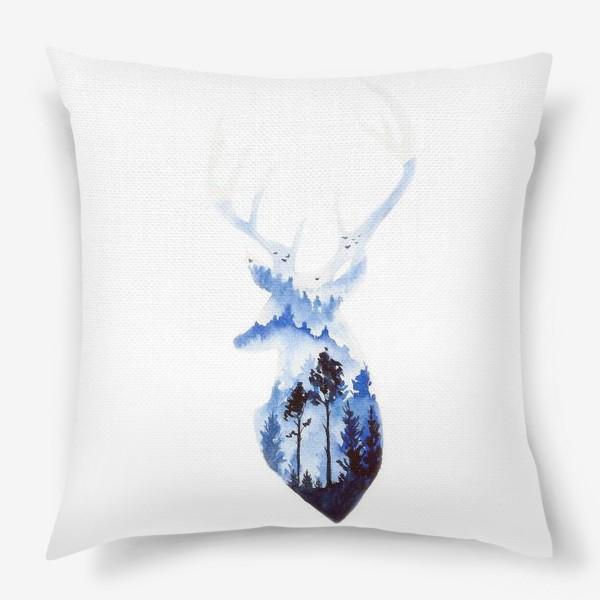 Подушка «Лесной олень»
