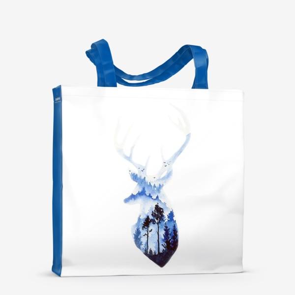 Сумка-шоппер «Лесной олень»