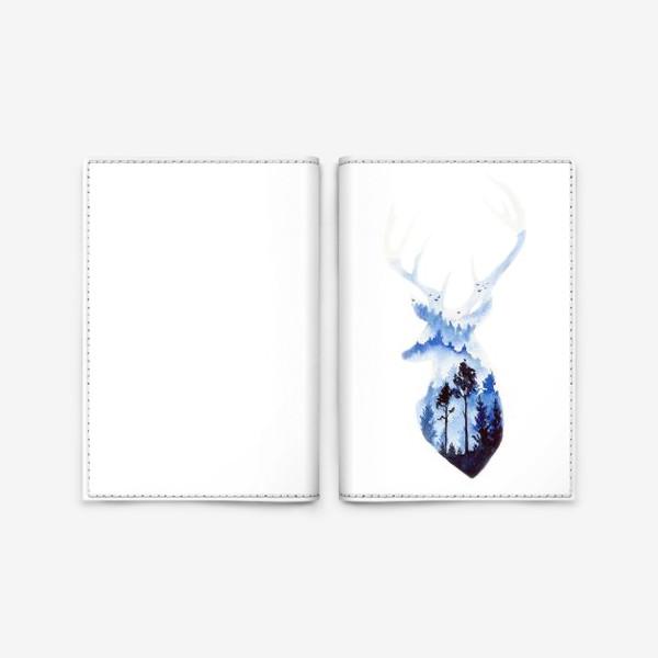 Обложка для паспорта «Лесной олень»