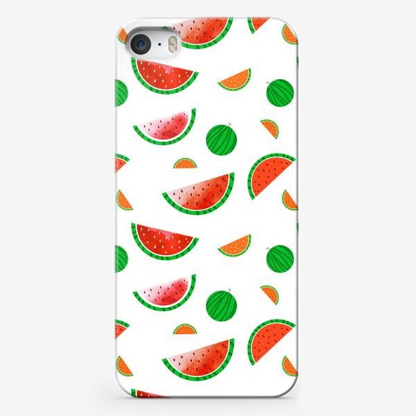 Чехол iPhone «Арбузный паттерн»