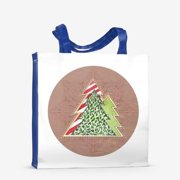 Сумка-шоппер «Christmas Trees»