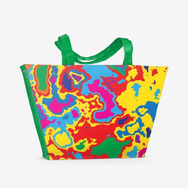 Пляжная сумка «Fantastic map»