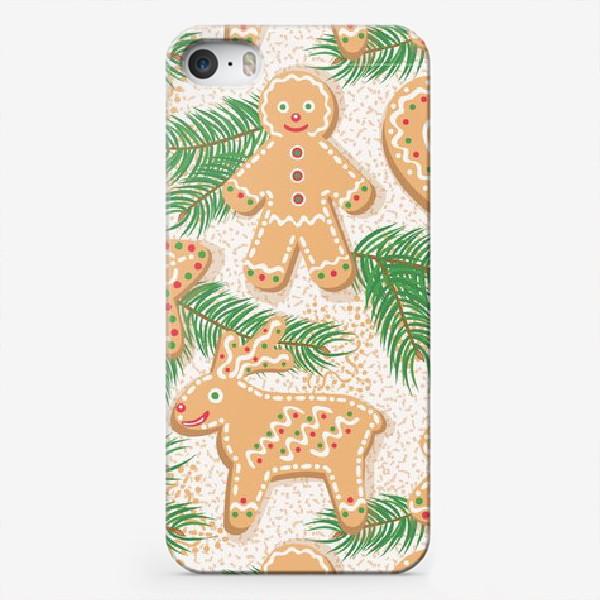 Чехол iPhone «Имбирное печенье»