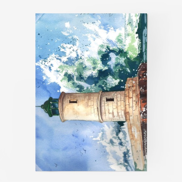 Постер «Маяк в шторм»