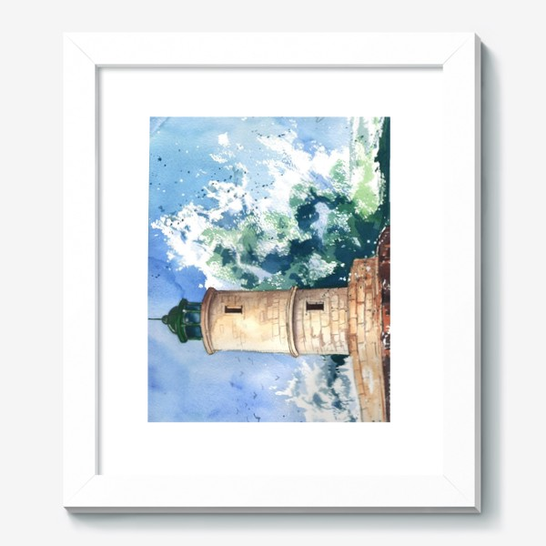 Картина «Маяк в шторм»