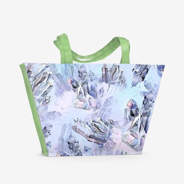 Пляжная сумка «Кристалы»