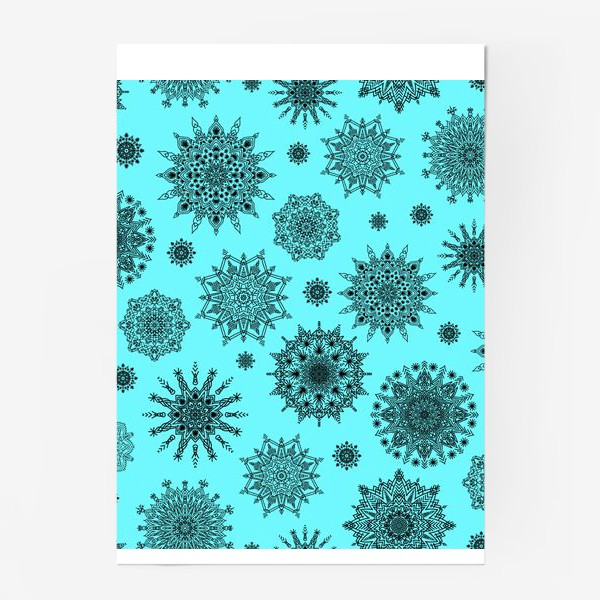 Постер «Blue Oriental Pattern»