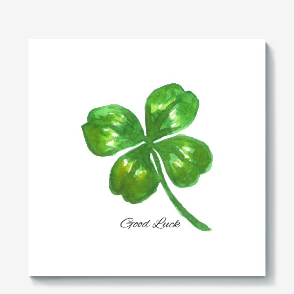 Холст «four-leaved clover»