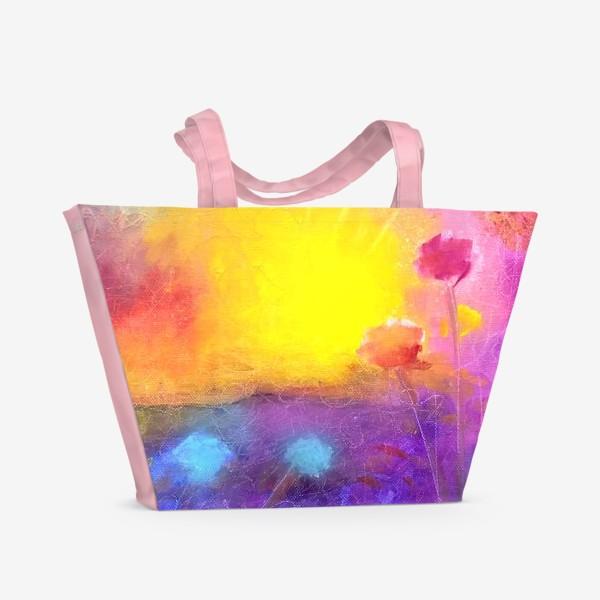 Пляжная сумка «Жизнь и Пространство»