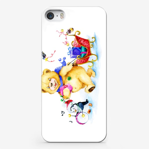 Чехол iPhone «Веселая компания. Новый год.»