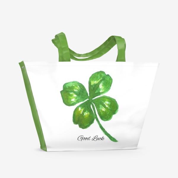 Пляжная сумка «four-leaved clover»
