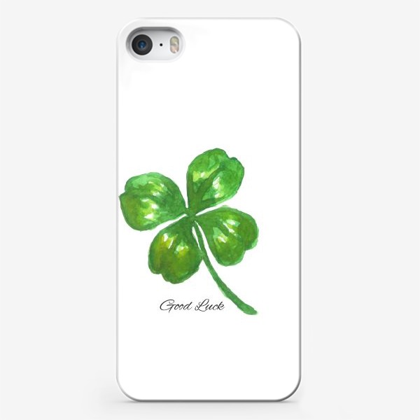 Чехол iPhone «four-leaved clover»