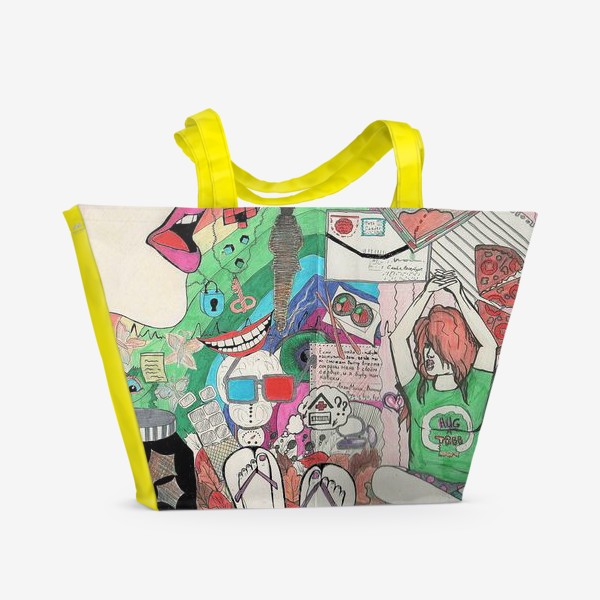 Пляжная сумка «Эмоции»