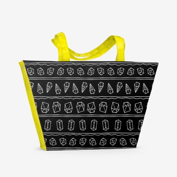 Пляжная сумка «Геометрия и жизнь»