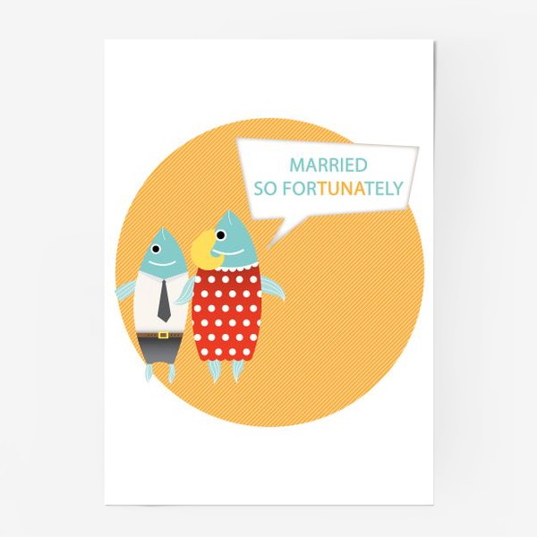 Постер «Mrs. Tuna says...»