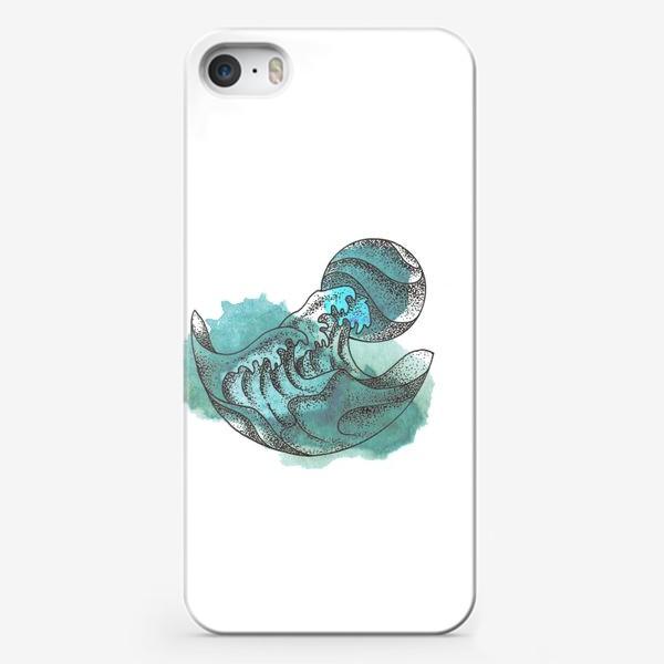 Чехол iPhone «Пенные волны»