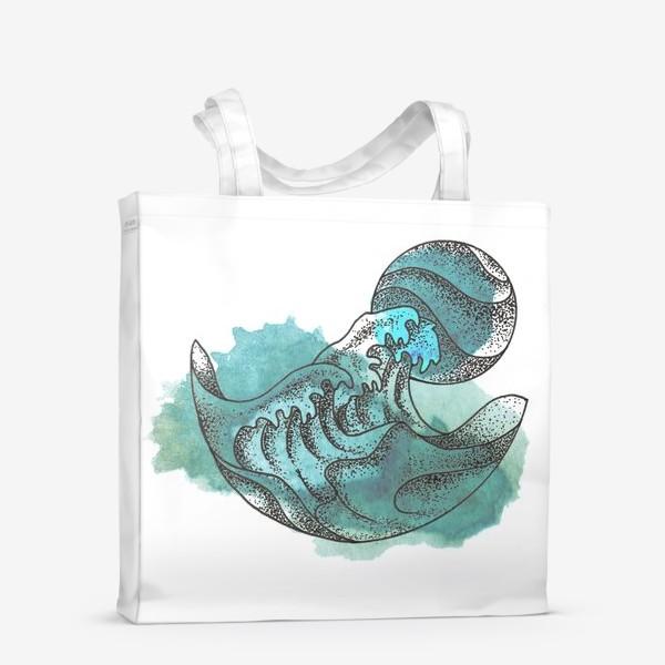 Сумка-шоппер «Пенные волны»