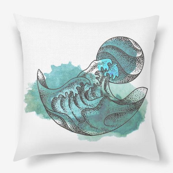 Подушка «Пенные волны»