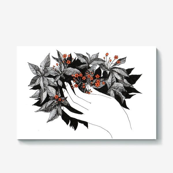Холст «Цветочки»