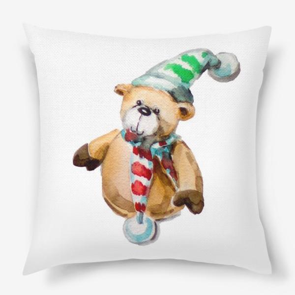 Подушка «Новогодний мишка»