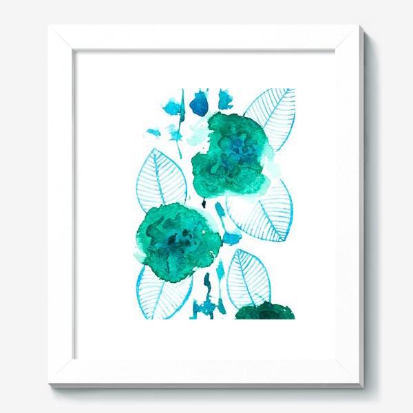 Картина «абстрактные цветы»