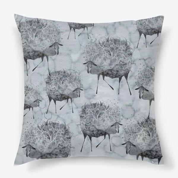 Подушка «Облачные овцы»