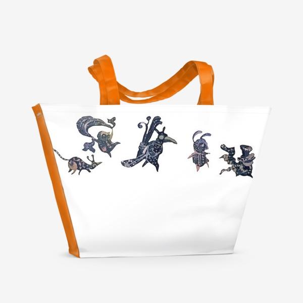 Пляжная сумка «Зимнее путешествие»