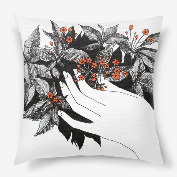 Подушка «Цветочки»