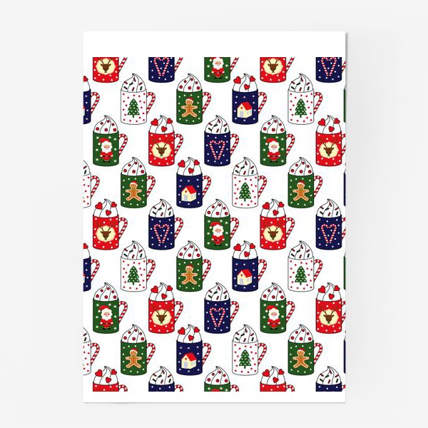Постер «Рождественские кружки»