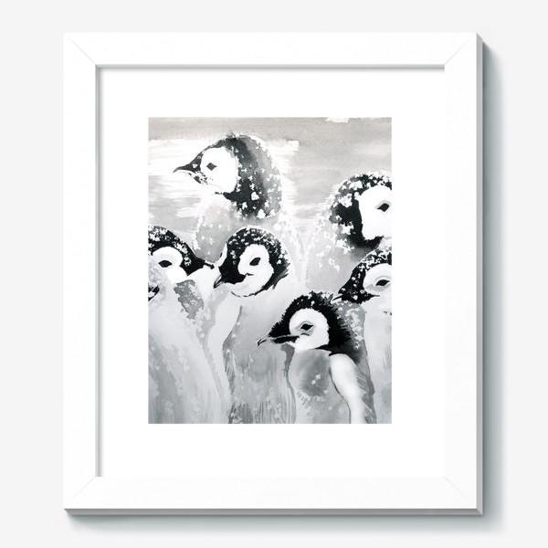 Картина «Пингвины»