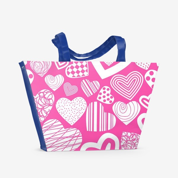 Пляжная сумка «Абстракция»