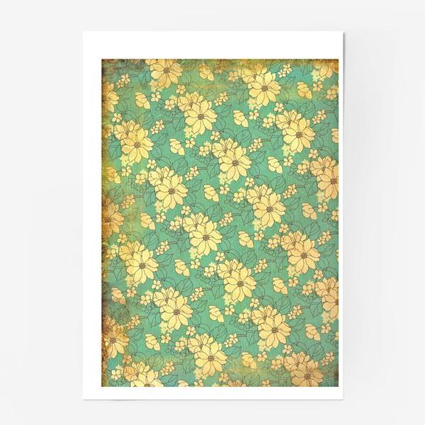 Постер «Цветущий сад»