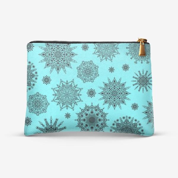 Косметичка «Blue Oriental Pattern»