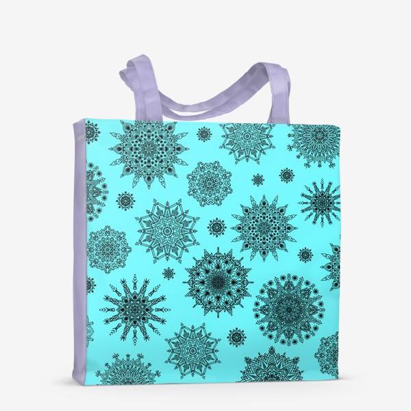 Сумка-шоппер «Blue Oriental Pattern»