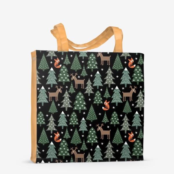 Сумка-шоппер «Сказочный лес»