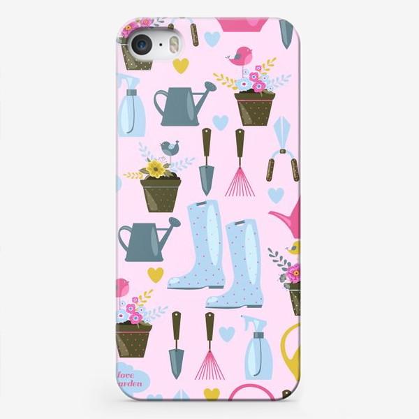 Чехол iPhone «Модный дачник »