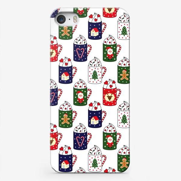 Чехол iPhone «Рождественские кружки»