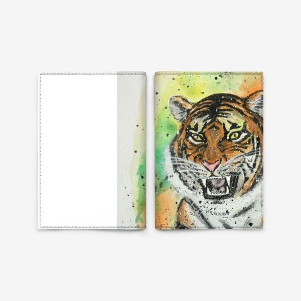 Обложка для паспорта «Touch me»