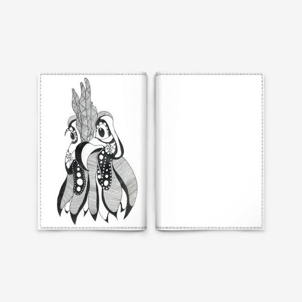 Обложка для паспорта «Курочка»